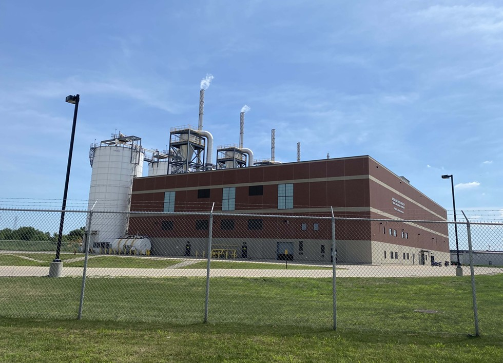 The Great Lakes Water Authority's biosolids facility. - TOM PERKINS