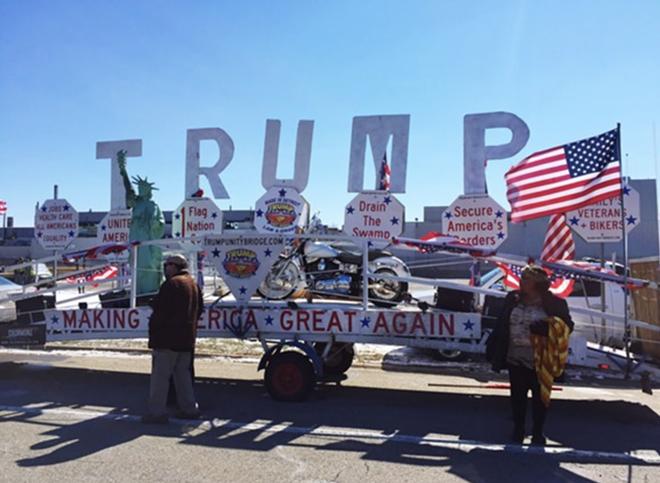 The Trump Unity Bridge. - VIOLET IKONONOVA