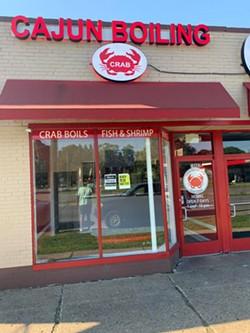 Newly opened Cajun Boiling Crab at 19803 W. McNichols Rd. in - Detroit. - EDWARD DAVIS II