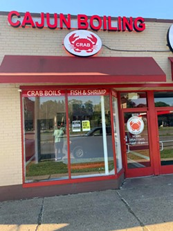 Newly opened Cajun Boiling Crab at 19803 W. McNichols Rd. in - Detroit. - EDWARD DAVIS II