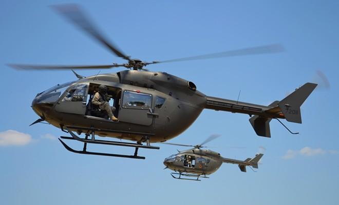 U.S. Army UH-72 Lakota helicopter. - SHUTTERSTOCK