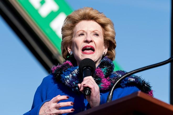 Sen. Debbie Stabenow in Warren. - SHUTTERSTOCK
