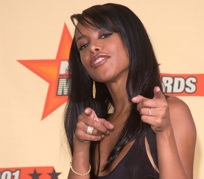 Aaliyah in 2001. - FEATUREFLASH PHOTO AGENCY, SHUTTERSTOCK