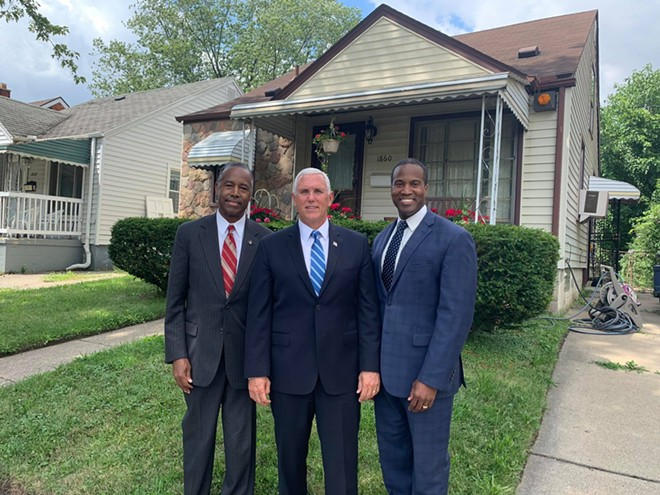 In case there's any confusion: Yes, John James, right, is a Republican. - JOHN JAMES CAMPAIGN