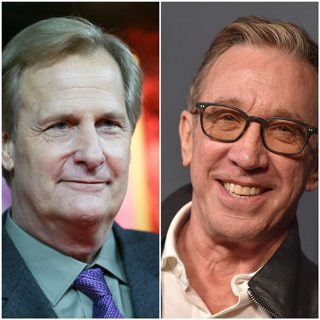Jeff Daniels and Tim Allen. - DENIS MAKARENKO AND DFREE / SHUTTERSTOCK.COM