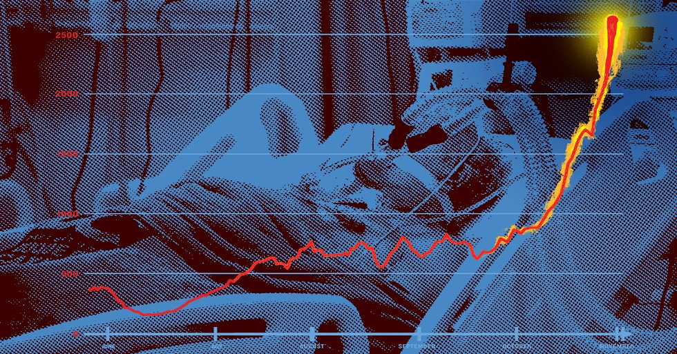 More than 230,000 Americans have died of COVID-19 this year — and the worst may well be ahead of us. - SHUTTERSTOCK/DESIGN BY EVAN SULT