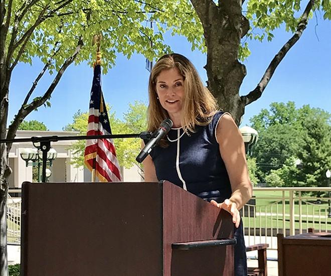 Michigan Supreme Court Chief Justice Bridget McCormack. - BRIDGETMARYMCCORMACK.COM