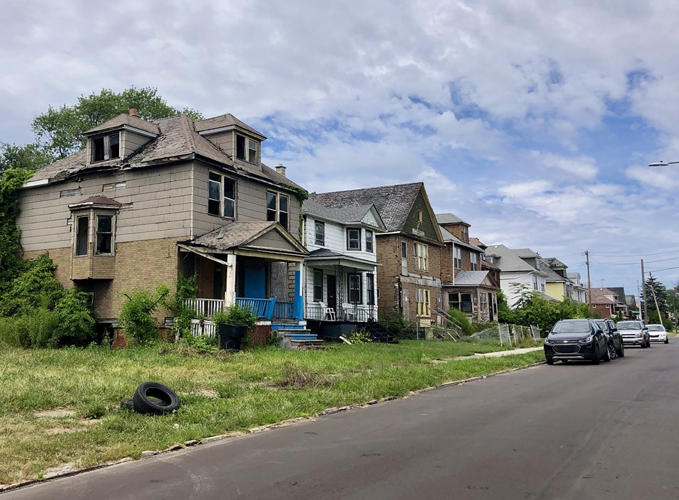 More than 20,000 vacant houses create blight in Detroit. - STEVE NEAVLING