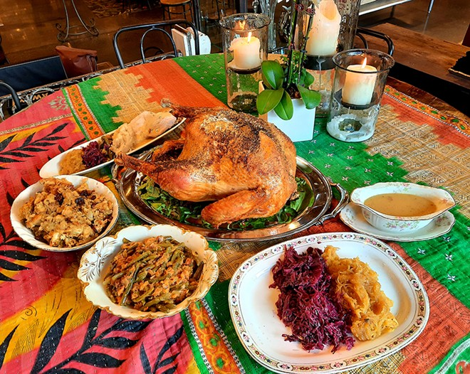 Three Cats Restaurant at Leon & Lulu in downtown Clawson is one of many local restaurants offering Thanksgiving meals to-go. - COURTESY OF THREE CATS RESTAURANT