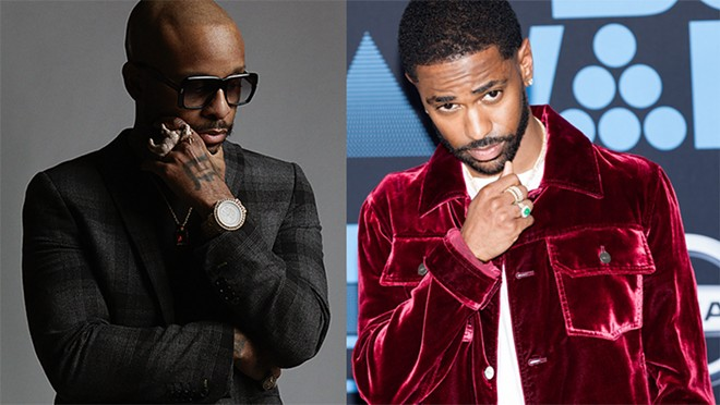 Royce Da 5'9'' and Big Sean. - JENNY RISHER, JAMIE LAMOR THOMPSON / SHUTTERSTOCK.COM