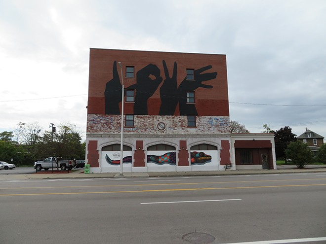 4731 Grand River Ave., the future home of Allied Media Projects' new LOVE Building. - DESIGNING JUSTICE + DESIGNING SPACES