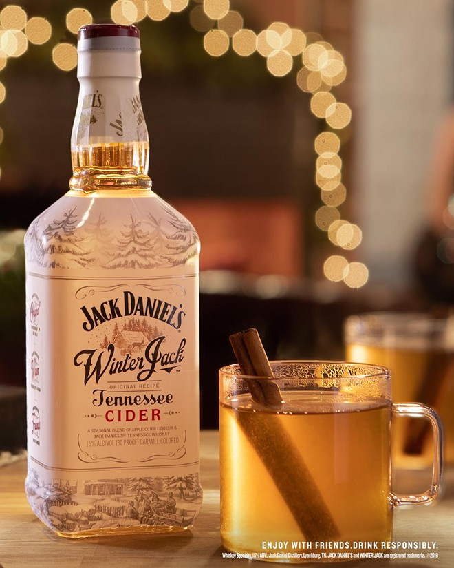 """Jack's Winter Cider"":  The holiday season's warmest welcome"