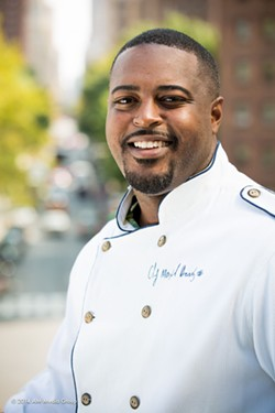 Chef Maxcel Hardy. - COURTESY PHOTO