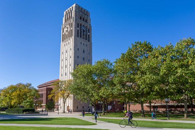University of Michigan campus. - SHUTTERSTOCK
