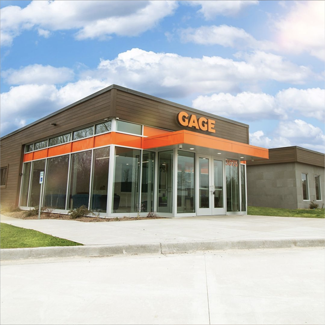 Gage Cannabis Co.'s Grand Rapids location. - GAGE CANNABIS CO.