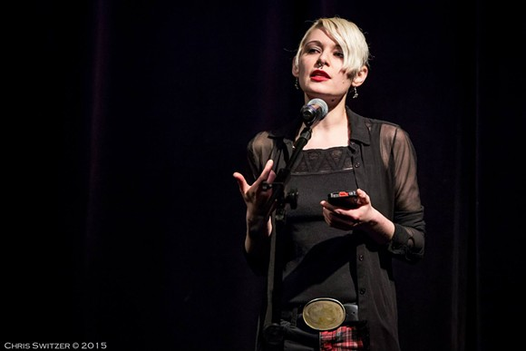 Poet Lianna T. - COURTESY PHOTO.