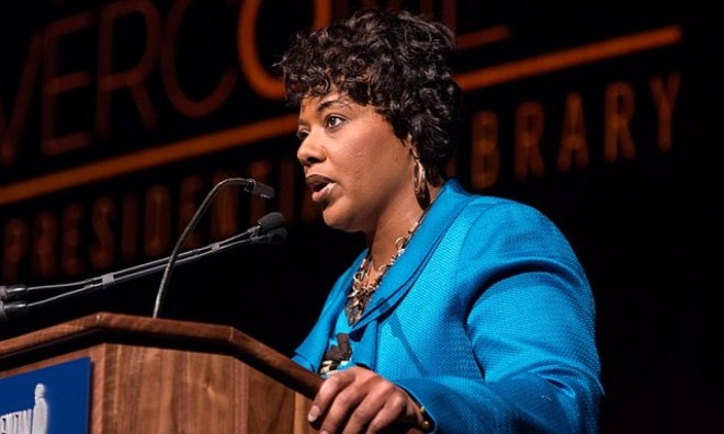 The daughter of Dr. Martin Luther King Jr., Dr. Bernice King, will speak to Michiganders during a virtual event. - LBJ LIBRARY/WIKIMEDIA COMMONS