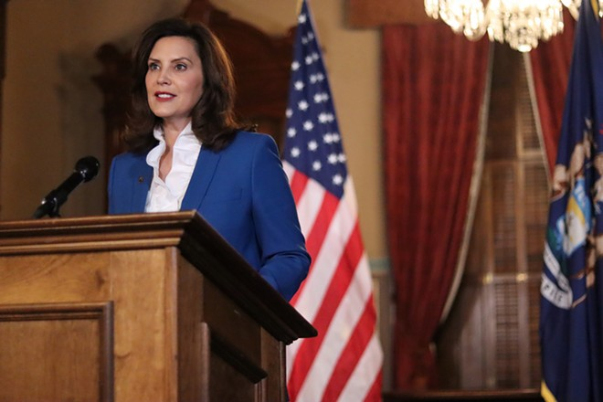 Governor Gretchen Whitmer. - STATE OF MICHIGAN