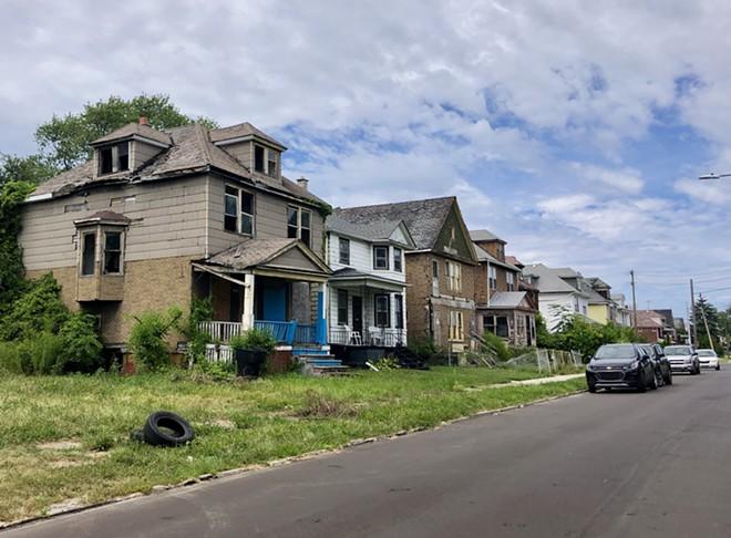 More than 20,000 vacant houses create blight in Detroit. - STEVE NEAVLING