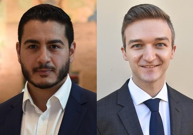 Abdul El-Sayed and Micah Johnson. - COURTESY OF UNIVERSITY PRESS