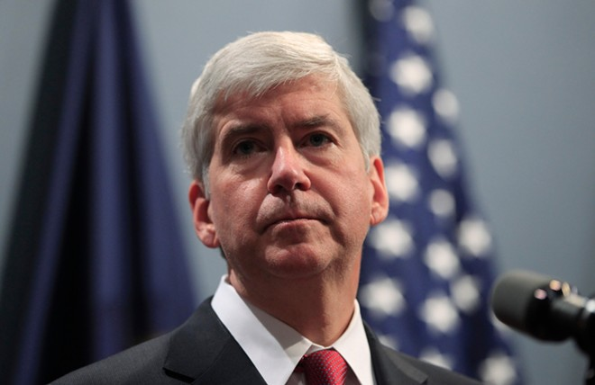 Former Michigan Governor Rick Snyder faces charges of willful neglect in the Flint water crisis. - VASILIS ASVESTAS / SHUTTERSTOCK.COM