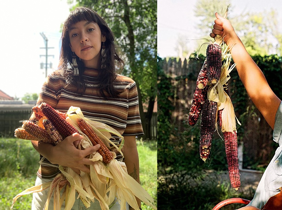 The seed keeper: Kirsten Kirby Shoote is helping keep Indigenous crops alive, including the Cherokee White Eagle corn, which survived the Trail of Tears.