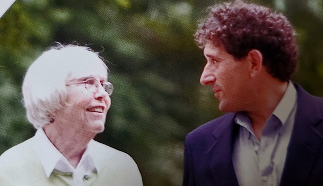 Beverley McDonald, left, and U.S. Rep. Andy Levin. - COURTESY PHOTO