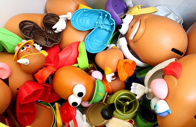 How much time will Democrats waste trying to find 10 Republicans willing to work constructively on something more important than Mr. Potato Head's penis? - CJMACER / SHUTTERSTOCK.COM