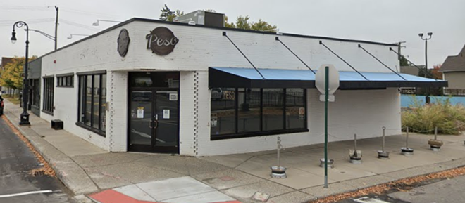 The now-shuttered Peso Bar on Bagley Avenue in Detroit's Mexicantown. - GOOGLE MAPS/STREET VIEW