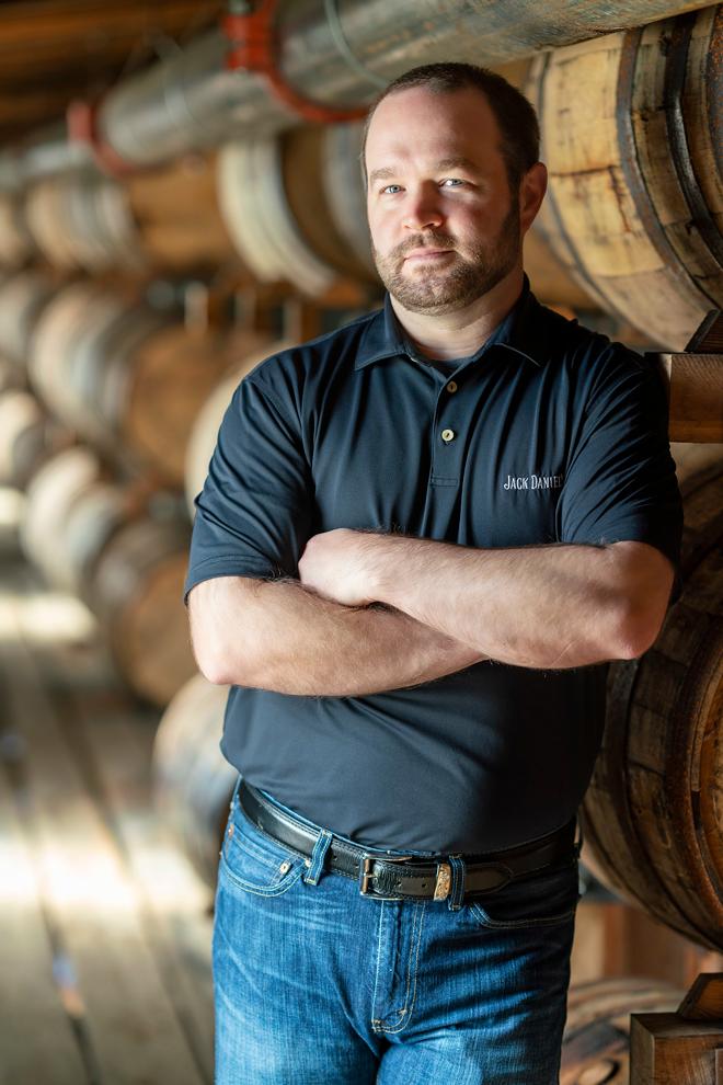 Jack Daniel's Master Distiller Chris Fletcher