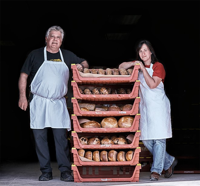Ann Arbor baker Frank Carollo. - PHOTO BY ANTONIS ACHILLEOS