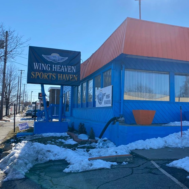 Wing Heaven Sports Haven in East Lansing doesn't serve booze. - COURTESY OF WING HEAVEN SPORTS HAVEN