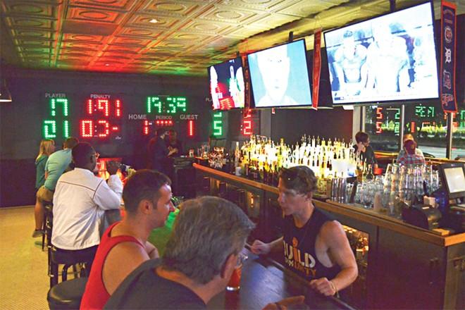 Briggs Sports Bar. - DUSTIN BLITCHOK