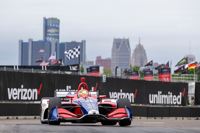 The Chevrolet Detroit Grand Prix on Belle Isle. - GRINDSTONE MEDIA GROUP / SHUTTERSTOCK.COM