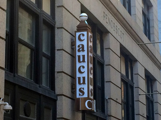 The Caucus Club is planning to re-open in April. - COURTESY PHOTO