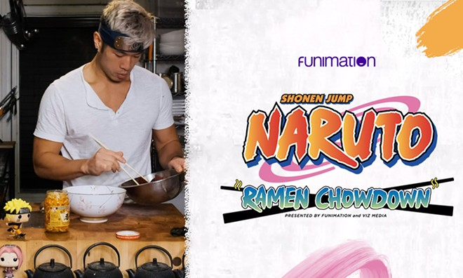 Detroit chef Jonathan Kung has teamed up with Funimation for a series of ramen dishes inspired by the anime Naruto. - COURTESY PHOTO
