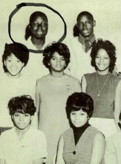 Reuben Bryant, top left, in a 1966 class photo at Detroit's Northwestern High School. - ANCESTRY.COM