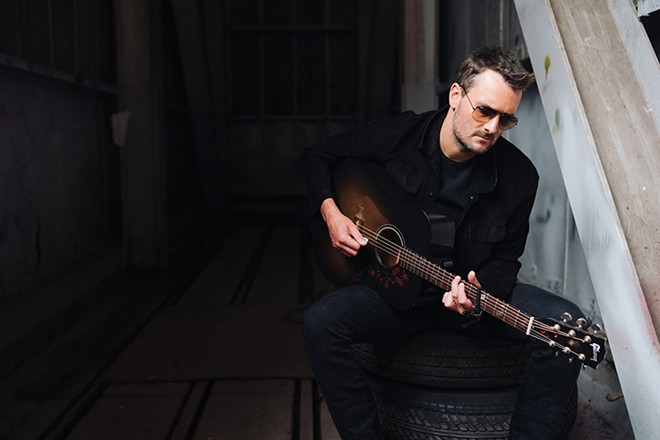 Eric Church. - REID LONG