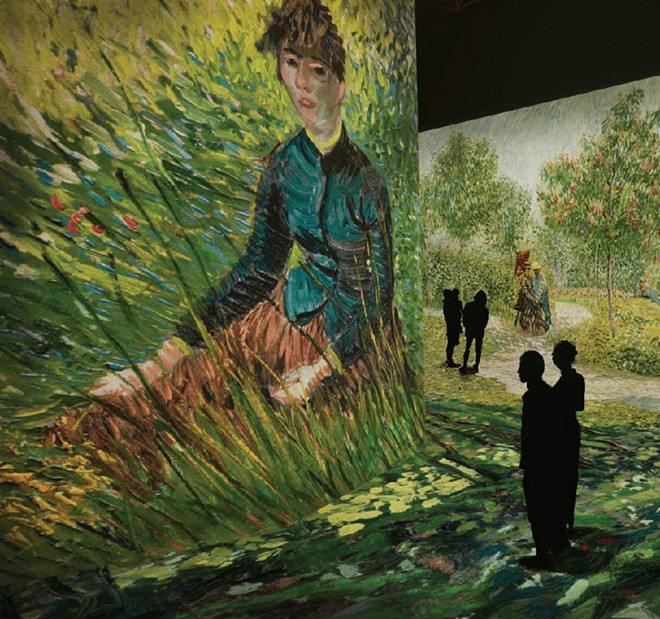 """Beyond Van Gogh: An Immersive Experience"" is not to be confused with ""Immersive Van Gogh Exhibit Detroit."" - COURTESY OF ""BEYOND VAN GOGH: AN IMMERSIVE EXPERIENCE"""