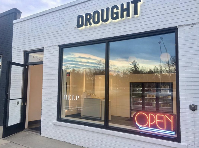 Drought's Royal Oak location is among the four to close at the end of April. - GOOGLE MAPS/STREET VIEW