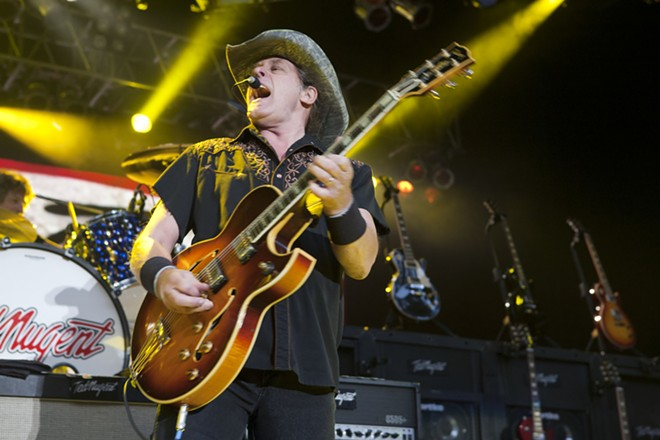 Ted Nugent. - HARMONY GERBER / SHUTTERSTOCK.COM