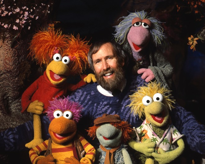 Jim Henson with puppets from Fraggle Rock. - © THE JIM HENSON COMPANY COURTESY THE JIM HENSON COMPANY / MOMI
