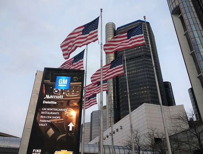 The Detroit Marriott at the Renaissance Center. - SHANKAR BALAJI / SHUTTERSTOCK.COM