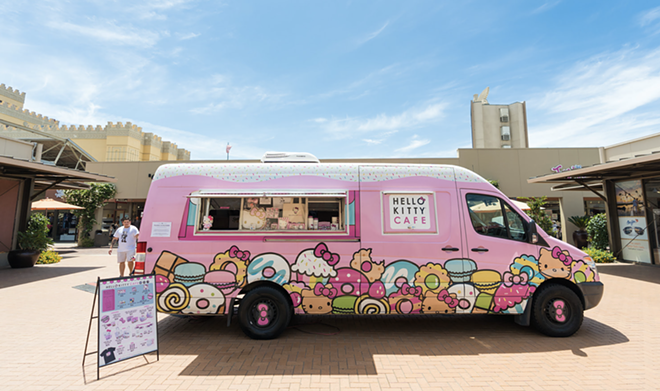 Fast and Furr-ious. - COURTESY OF HELLO KITTY CAFE TRUCK
