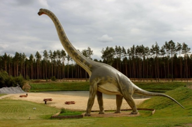 What happens when a Brontosaurus gets a sore throat? - COURTESY OF CANTERBURY VILLAGE EVENTS