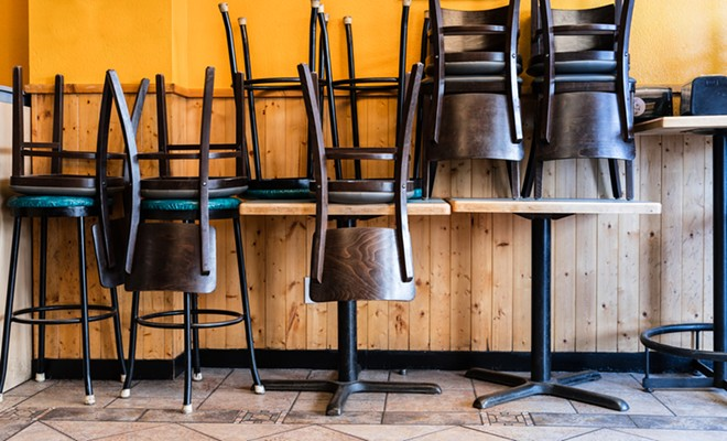 A health order prohibiting more than six people from dining at a table will be lifted June 1. - SHUTTERSTOCK