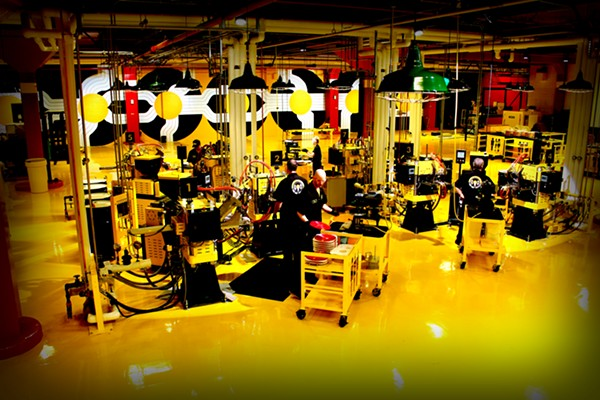 THIRD MAN CASS CORRIDOR'S PRESSING PLANT OPENS FEB. 25. COURTESY PHOTO.
