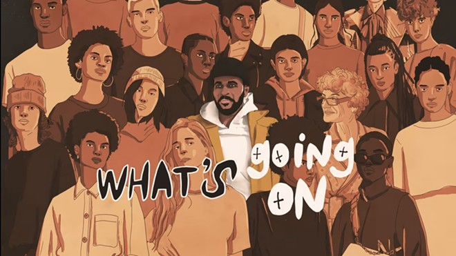 Motown releases new video for Marvin Gaye's What's Going On. - SCREEN SHOT VIA YOUTUBE