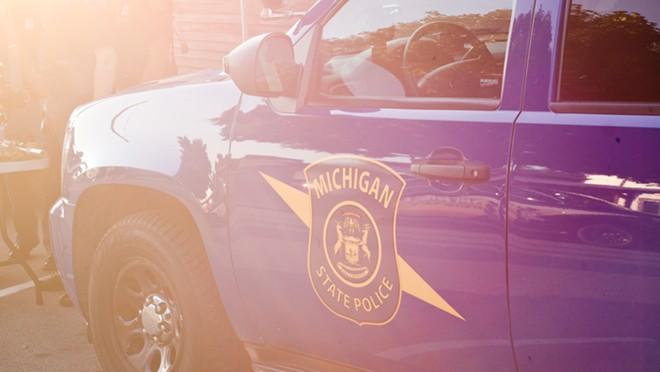 Michigan State Police car. - SHUTTERSTOCK