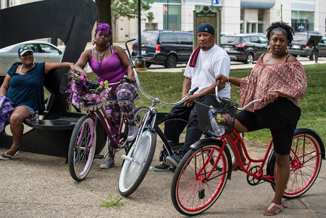 Dearborn's Juneteenth Mobility Stroll & Roll will see revelers roll down Michigan Avenue. - EAST AND WEST DEARBORN DOWNTOWN DEVELOPMENT AUTHORITIES